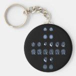 MRI Cross Key Chain