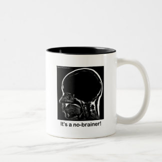 MRI: It's a no-brainer! Two-Tone Coffee Mug