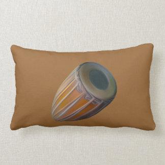 Mridanga Drum Throw Pillow