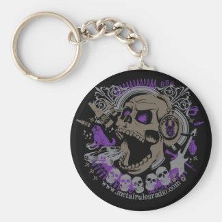 MRR Screaming Skull Keychain