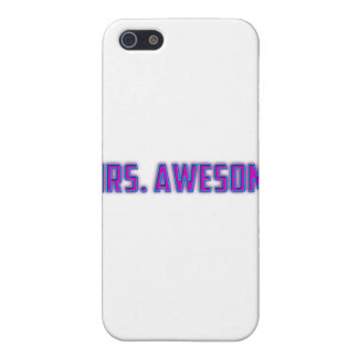 Mrs. Awesome iPhone 5/5S Case