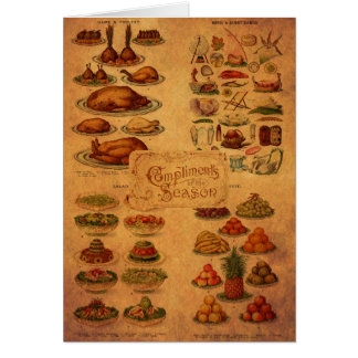 Mrs Beeton s Christmas Feast Card