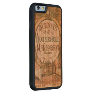 Mrs Beetons Book of Household Managemet Carved® Cherry iPhone 6 Bumper Case