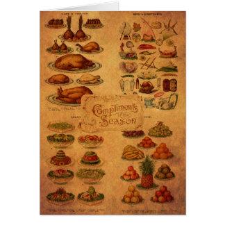 Mrs Beeton's Christmas Feast Card