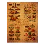 Mrs Beeton's Christmas Feast Postcard
