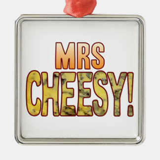 Mrs Blue Cheesy Christmas Ornament