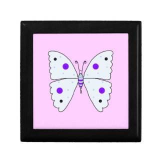 Mrs Butterfly Small Square Gift Box