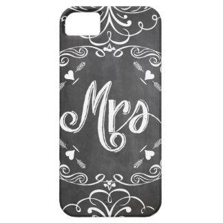 Mrs. Chalkboard iPhone5 Case