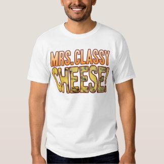 Mrs Classy Blue Cheese Tshirts
