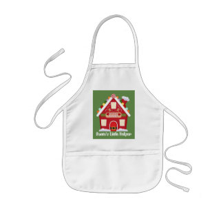 Mrs Claus Bakery Santa's little helper apron