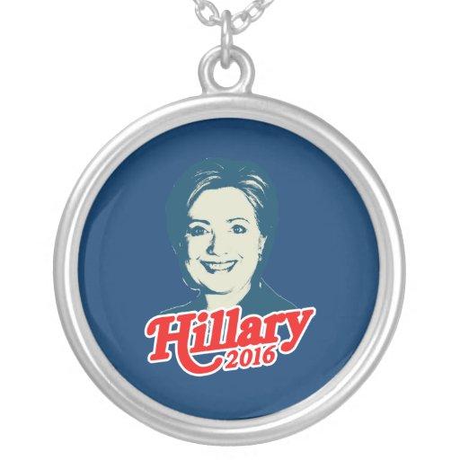 MRS. CLINTON FOR PRESIDENT 2016 PENDANTS