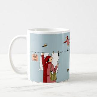 Mrs. Close Meets Herself Coffee Mug