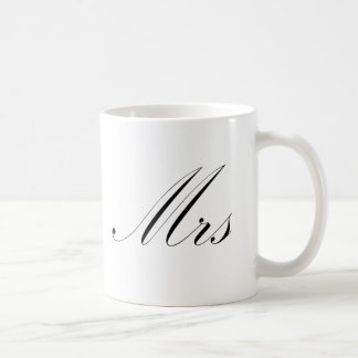 Mrs Coffee Mug