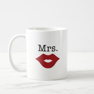 Mrs. Coffee Mug - Perfect Wedding, Bridal Shower