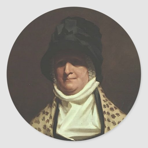 Mrs. Colin Campbell of Park by Henry Raeburn Stickers