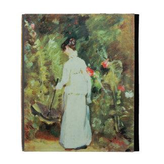 Mrs Constable in her Garden iPad Cases