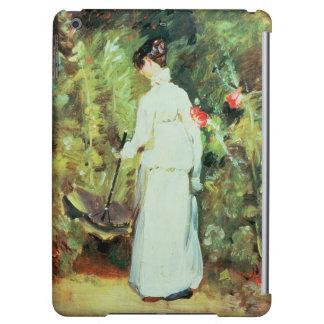 Mrs Constable in her Garden