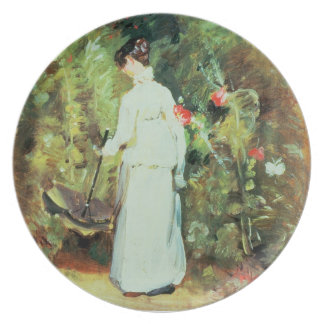 Mrs Constable in her Garden Party Plate