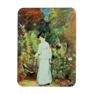 Mrs Constable in her Garden Rectangular Photo Magnet