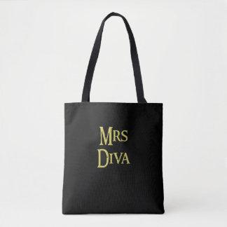 Mrs Diva, tote-bag, for sale ! Tote Bag