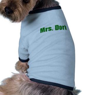Mrs Dork Dog Tee Shirt