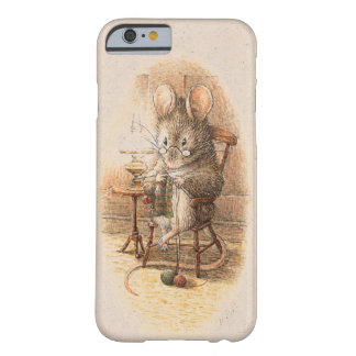 Mrs. Dormouse Knitting Barely There iPhone 6 Case