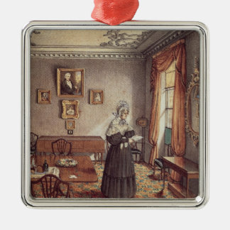 Mrs Duffin's dining room at York Christmas Ornament