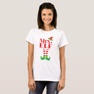 Mrs. ELF Christmas season T-Shirt