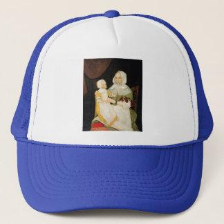 Mrs. Elizabeth Freake and Baby Mary, ca. 1671-1674 Trucker Hat