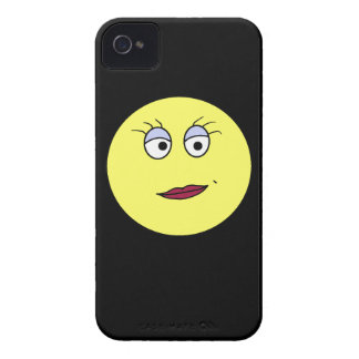 Mrs Emoticon iPhone 4 Covers