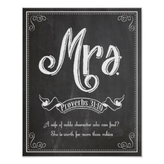 Mrs from the Mr. and Mrs. series Poster