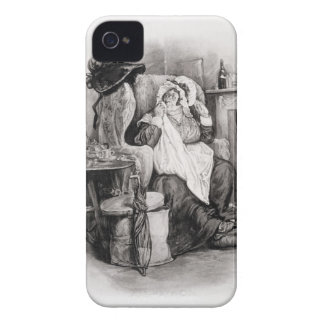 Mrs Gamp, from 'Charles Dickens: A Gossip about hi iPhone 4 Cases