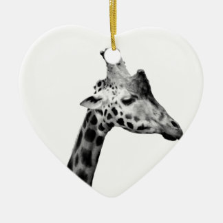 Mrs Giraffe Christmas Ornament