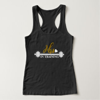 Mrs. (Gold Foil) in Training Women's Workout Tank Top