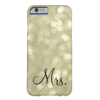 Mrs. Gold iPhone 6 Case Barely There iPhone 6 Case