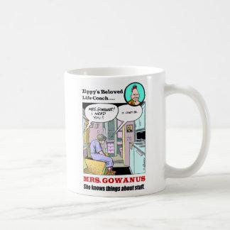 Mrs. Gowanus Basic White Mug