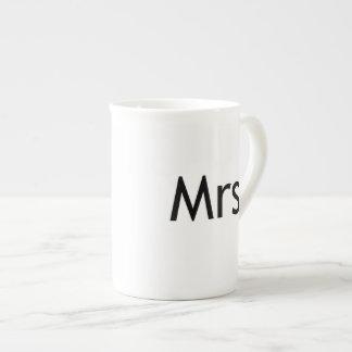 Mrs  - half of Mr and Mrs set Tea Cup