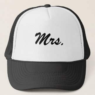 Mrs./Honeymoon Trucker Hat