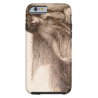 Mrs. Jane Morris Reclining on a Sofa Tough iPhone 6 Case