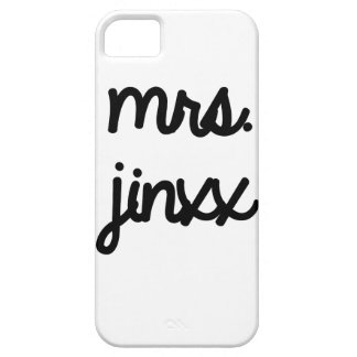 Mrs. Jinxx iPhone 5 Cases