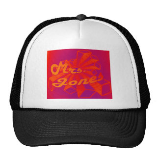 Mrs. Jones-Star Logo-Orange Starburst Cap