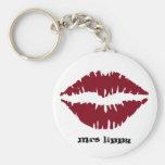 Mrs. lippy keychains