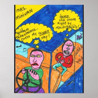 Mrs. Minivan Poster