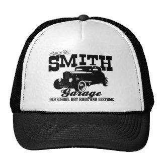Mrs.& Mr. Smith Hot-Rod Garage Mesh Hats