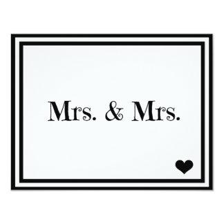 Mrs. & Mrs. Card