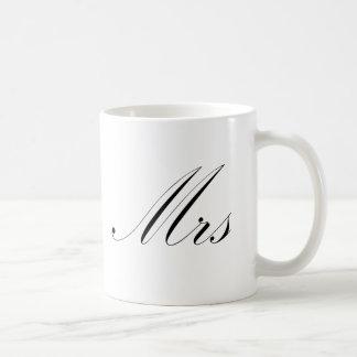 Mrs Basic White Mug