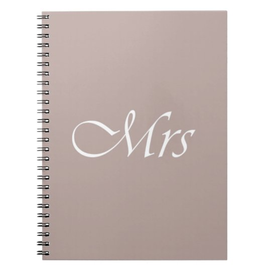 Mrs Notebook