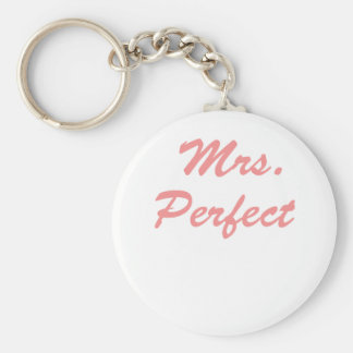 Mrs. Perfect Key Ring