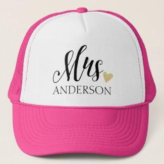 Mrs Personalised Hat