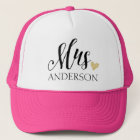 Mrs. Personalised Trucker Hat
